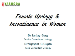 Female Urology &