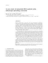 CWP A case study of azimuthal AVO analysis with anisot