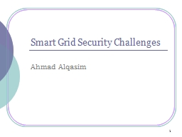 Smart Grid Security Challenges PowerPoint PPT Presentation