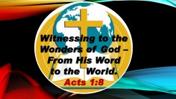 Witnessing to the