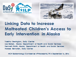Linking Data to Increase Maltreated Children's Access to