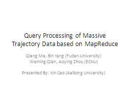 Query Processing PowerPoint PPT Presentation