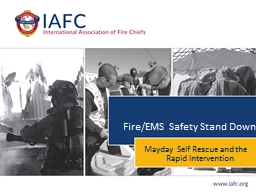 Fire/EMS Safety Stand Down