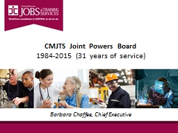 CMJTS Joint Powers Board