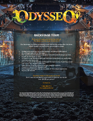 BACKSTAGE TOUR Discover the magic and technology behin