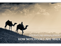 o perations management PowerPoint PPT Presentation