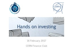 Hands on investing