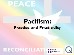Pacifism: