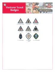 Venturer Scout Badges   PERSONAL INTEREST   FITNESS