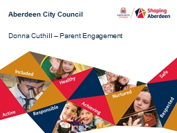 Aberdeen City Council PowerPoint PPT Presentation