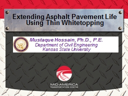Extending Asphalt Pavement Life Using Thin