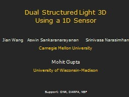 Dual Structured Light 3D PowerPoint PPT Presentation