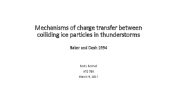 Mechanisms of charge transfer between colliding ice particl