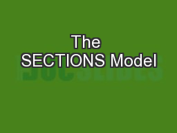 The SECTIONS Model