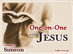 Jesus' First Visit to the Temple (Luke 2:22-24)