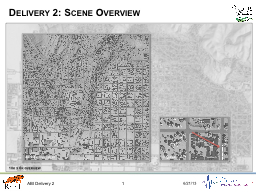 Delivery 2: Scene Overview