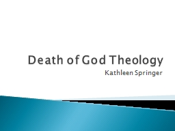 Death of God Theology