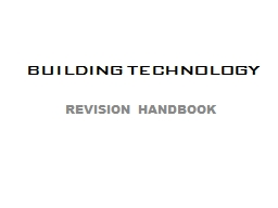 BUILDING TECHNOLOGY PowerPoint PPT Presentation