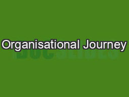 Organisational Journey
