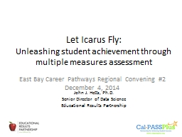 Let Icarus Fly: PowerPoint PPT Presentation