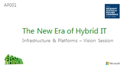 The New Era of Hybrid IT