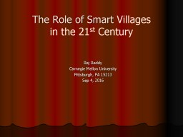 The Role of Smart