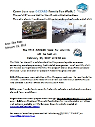 The 2017 GCCARD Walk for Warmth