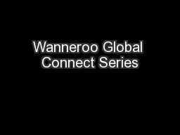 Wanneroo Global Connect Series