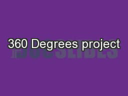 360 Degrees project