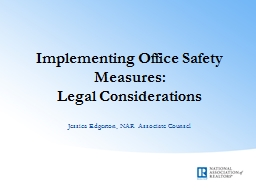 Implementing Office Safety Measures: