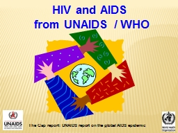 HIV and AIDS PowerPoint PPT Presentation