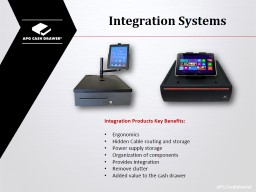 Integration Systems PowerPoint PPT Presentation