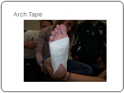 Arch Tape PowerPoint PPT Presentation