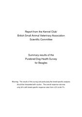 Report from the Kennel Club British Small Animal Veter PowerPoint PPT Presentation
