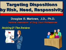 Targeting Dispositions