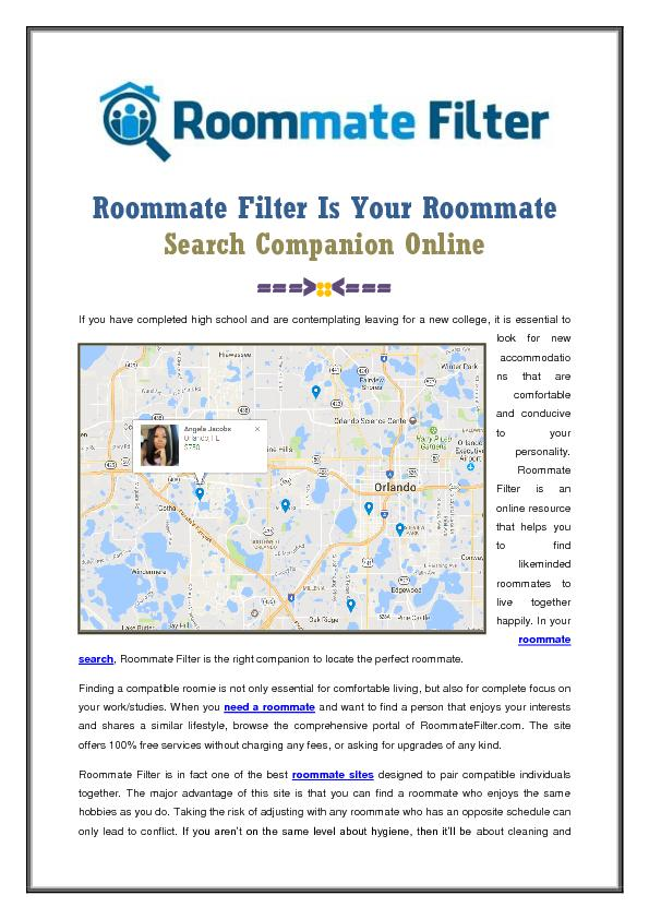 Best Roommate Finder Website