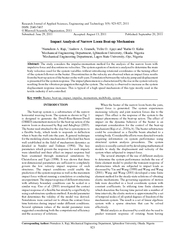 Research Journal of Applied Sciences Engineering and T