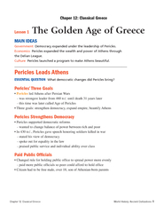 World History Ancient Civilizations Chapter  Classical