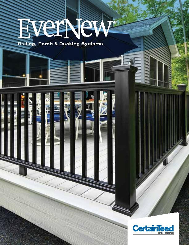 Railing, Porch & Decking Systems
