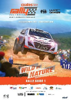 Coates Hire Rally Australia 2015 Rally Guide 1Page