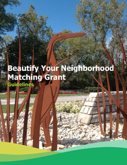 Beautify Your Neighborhood Matching Grant Guidelines PowerPoint PPT Presentation