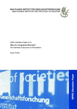 The Architecture of Multi-level Governance of Economic Coordination an