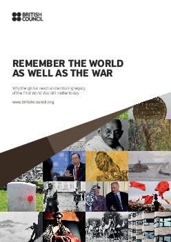 THE WOLD AS WELL AS THE WAWhy the global reach and enduring legacy of