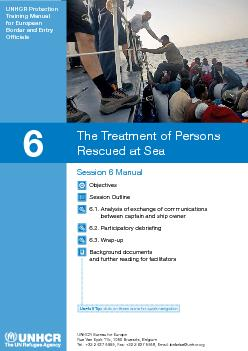 The Treatment of Persons 6.3. Wrap-upBackground documents and further