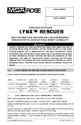 SELF RETRACTING LANYARD (SRL) AND EMERGENCYRESCUER WITH LOCKOUT FIELD