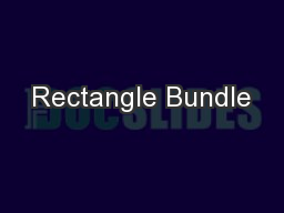 Rectangle Bundle