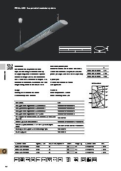 RIVAL LEDSuspended modular systemInstallationropes on the ceiling or m