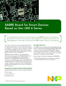 The Smart Application Blueprint for Rapid Engineering (SABRE) board fo
