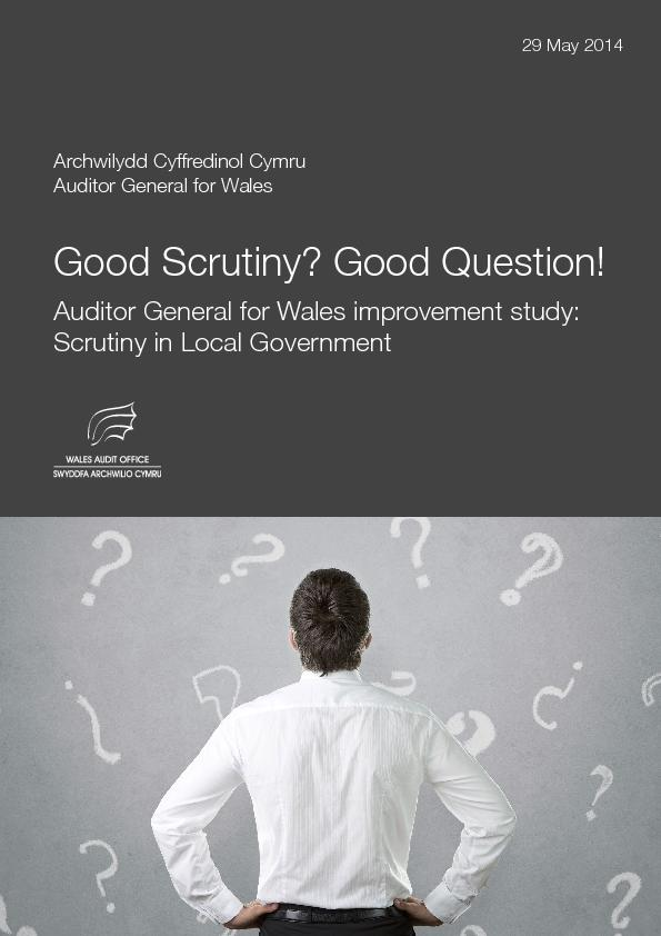 Auditor General for Wales improvement studScrutiny in Local Government