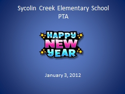 Sycolin Creek Elementary School